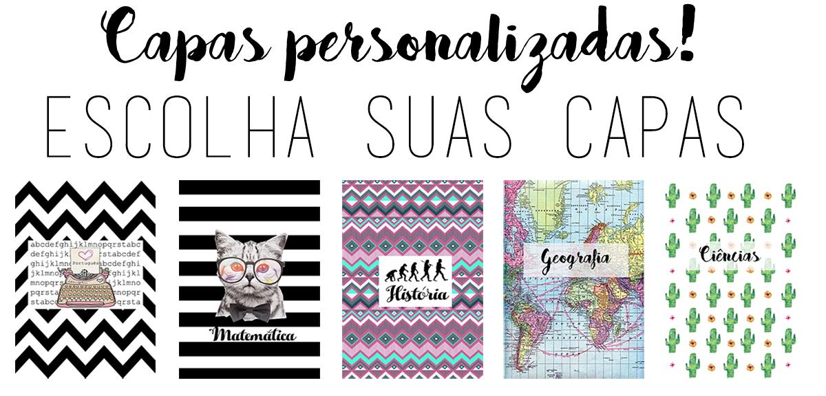 Personalize Seu Material Escolar Volta As Aulas 2016